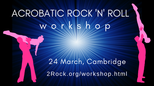 acrobatic rock and roll workshop